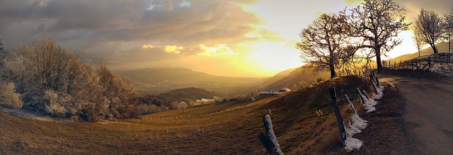 Villages autour de Grenoble, dans le Grésivaudan